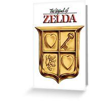 Zelda Logo 2 Greeting Card