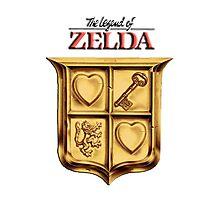 Zelda Logo 2 Photographic Print