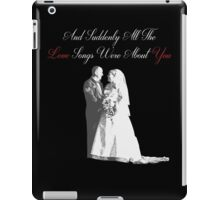 Love Songs iPad Case/Skin