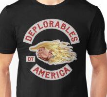 Deplorables for Trump Unisex T-Shirt