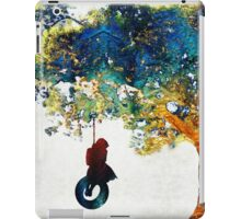 Colorful Landscape Art - The Dreaming Tree - By Sharon Cummings iPad Case/Skin