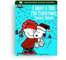 CHARLIE BROWN CHRISTMAS 4 Canvas Print