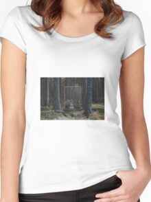 Mirror Of The Soul Women's Fitted Scoop T-Shirt