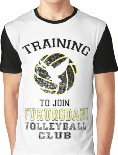 Training to join Fukurodani Volleyball Club Graphic T-Shirt