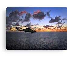 Cobra Attack Helicopter Canvas Print