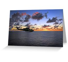 Cobra Attack Helicopter Greeting Card