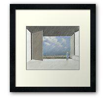 offen Framed Print
