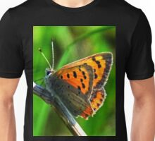 Small Copper Butterfly.......... Unisex T-Shirt