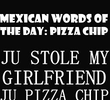 MEXICAN WORDS OF THE DAY: PIZZA CHIP 2 by grumpy4now