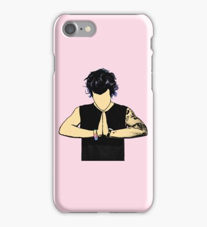 Harry Styles Drawing iPhone Case/Skin