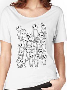 Tree's spirits (Full White) Women's Relaxed Fit T-Shirt