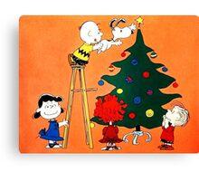 CHARLIE BROWN CHRISTMAS 6 Canvas Print