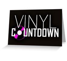 Vinyl Countdown Greeting Card