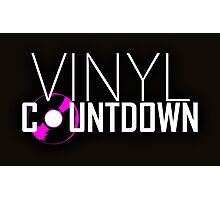 Vinyl Countdown Photographic Print