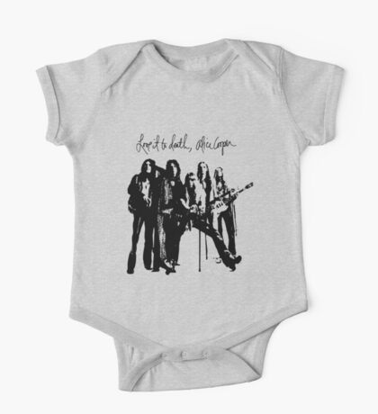 Alice Cooper Love It To Death One Piece - Short Sleeve