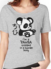 I'm a cute little panda Women's Relaxed Fit T-Shirt