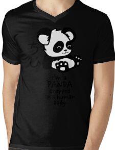 I'm a cute little panda Mens V-Neck T-Shirt