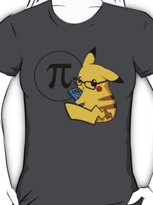 Pi-kachu v2.1(with shadows and glasses without lenses) T-Shirt