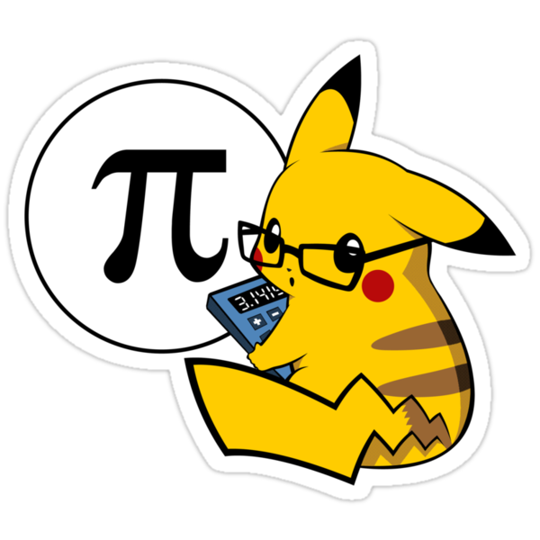 Pi-kachu v2.1(with shadows and glasses without lenses) by Mariotaro Designs