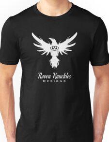 Raven Knuckles White Unisex T-Shirt