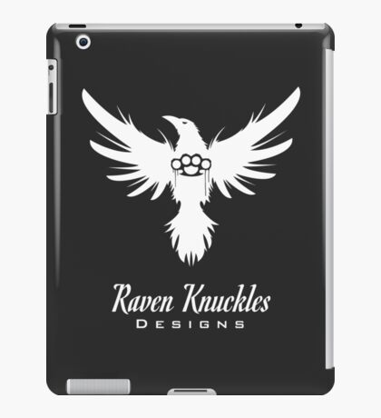 Raven Knuckles White iPad Case/Skin