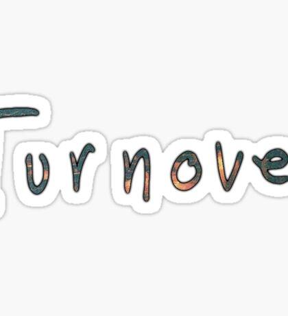 Turnover Text Sticker