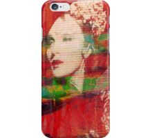 Marlene. Looking Down. iPhone Case/Skin