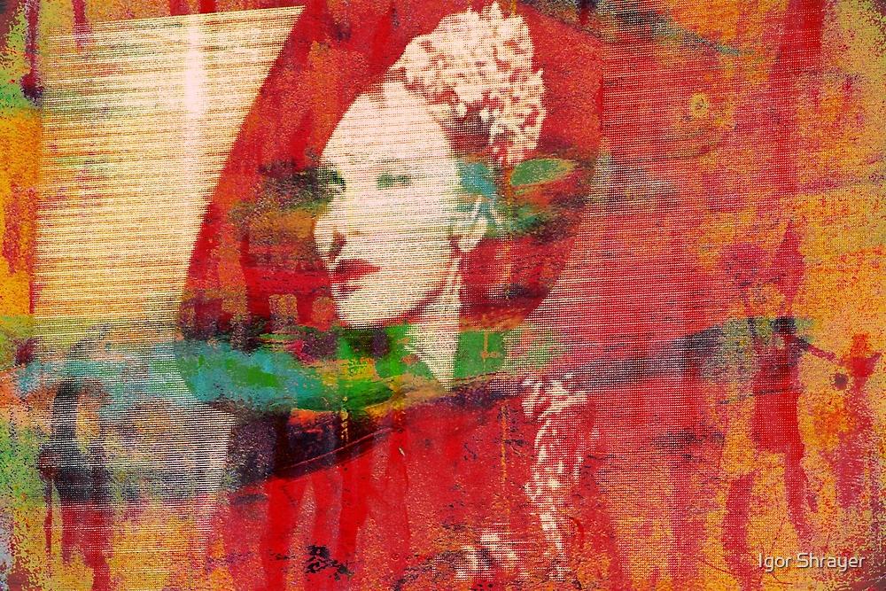 Marlene. Looking Down. by Igor Shrayer