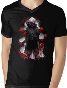 kaneki Mens V-Neck T-Shirt