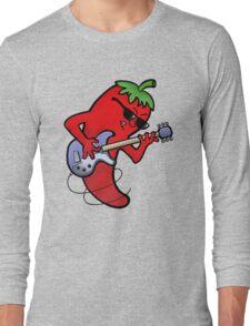 Red Hot Chili Rock Guitarist Long Sleeve T-Shirt