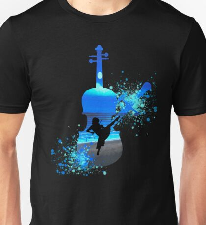 Let The Music Play - Blue Unisex T-Shirt