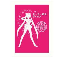 The Senshi Games: Moon ALT version Art Print