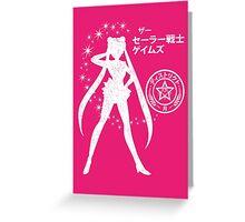 The Senshi Games: Moon ALT version Greeting Card