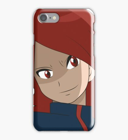 Pokemon Silver And Gold - Rival Mugshot iPhone Case/Skin