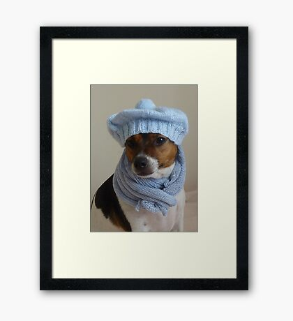 Bonnie's Sunday Best Framed Print