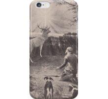 Old print 1887 9863 iPhone Case/Skin