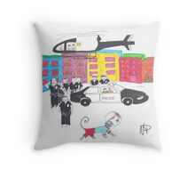 NaughtyPete - Incredible Sight  Throw Pillow