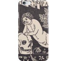 Old print 1887 9864 iPhone Case/Skin