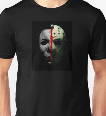 HORROR DOUBLE TEAM Unisex T-Shirt