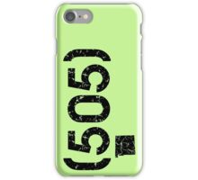 Area Code 505 New Mexico iPhone Case/Skin