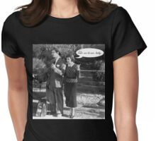 Vintage Hollywood Womens Fitted T-Shirt