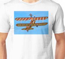AeroSuperBatics Stearman with Wing-walker Unisex T-Shirt