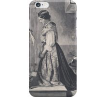 Old print 1887 9866 iPhone Case/Skin