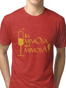 Wingardium MimOsa - Scarlet/Gold Tri-blend T-Shirt