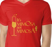Wingardium MimOsa - Scarlet/Gold Mens V-Neck T-Shirt