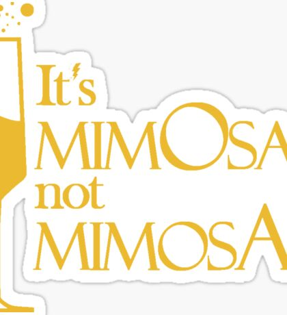Wingardium MimOsa - Scarlet/Gold Sticker