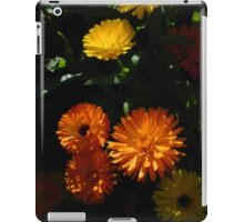 Old-Fashioned Marigolds iPad Case/Skin