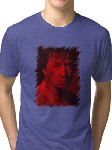 Jackie Chan - Celebrity Tri-blend T-Shirt