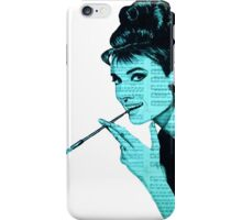 Audrey Hepburn an04 iPhone Case/Skin