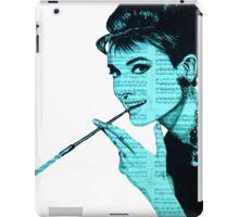 Audrey Hepburn an04 iPad Case/Skin